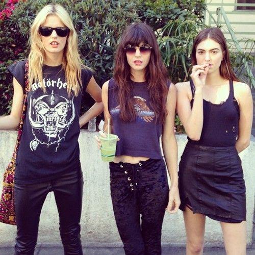 Alternative Festival Fashion Inspiration The Rock N 39 Roll Edition