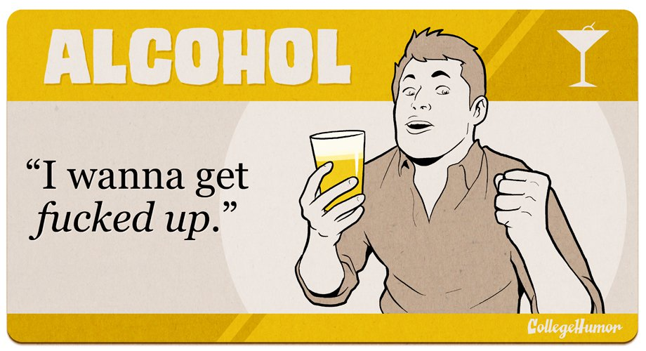 alcohol recovery humor