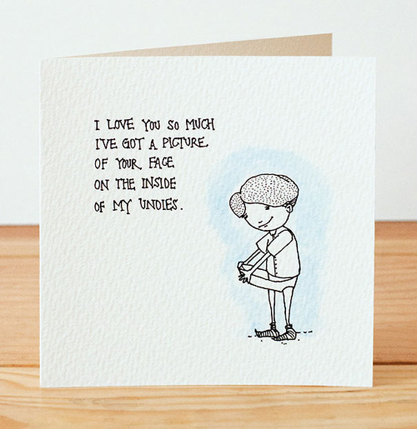 30 Pictures Of Funny Valentines Day Cards – Stalker Valentine Card
