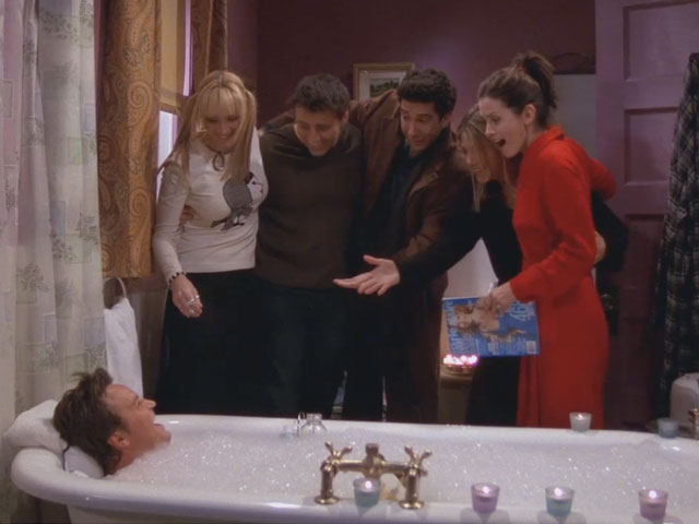 The-One-When-Chandler-Takes-a-Bath