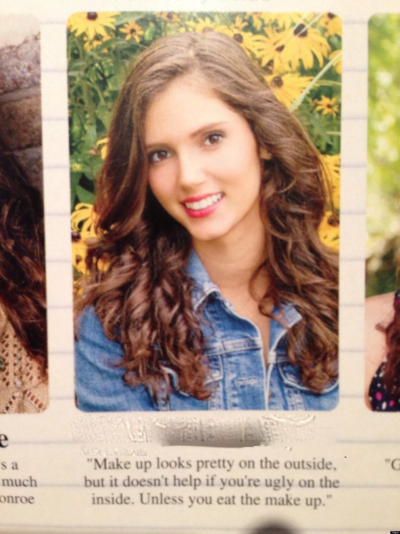 Funny Yearbook Picture Quotes CollegeTimescom - The 28 funniest yearbook quotes of all time
