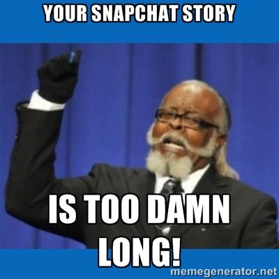 snap story