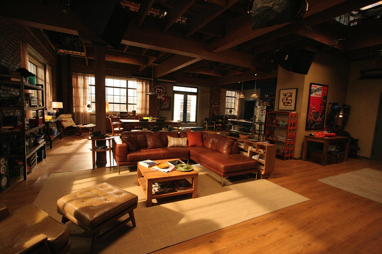 17 Times Tv Shows And Movies Gave Us Apartment Envy Collegetimes Com # Meubles Bas Tv Loft
