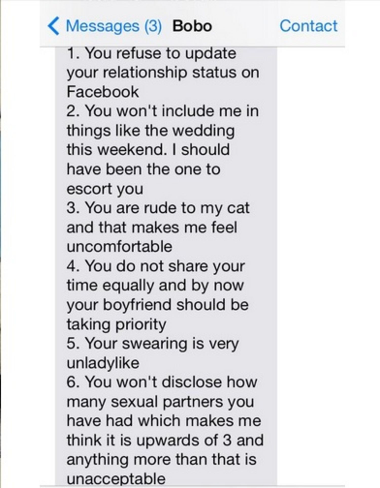 Sex paragraph to send to your boyfriend