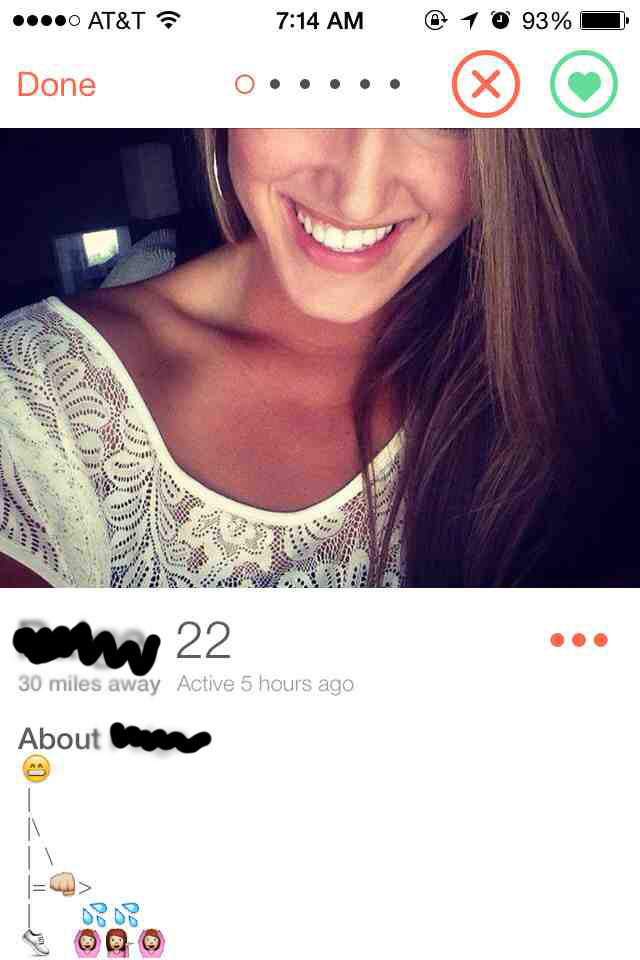 clever bios for tinder