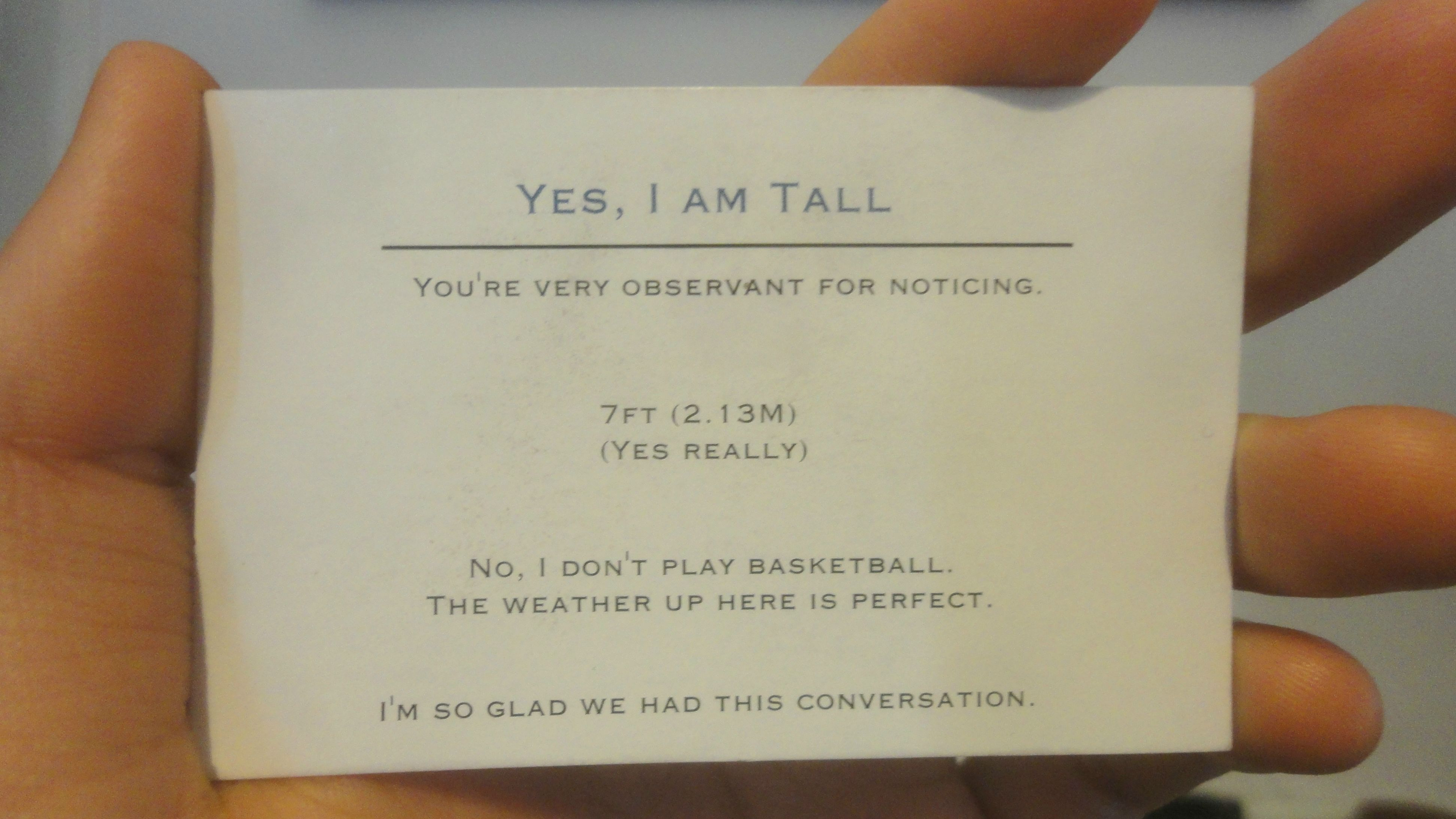 """12 Life Struggles That ly Tall People Over 6 4"""" Will Understand"""