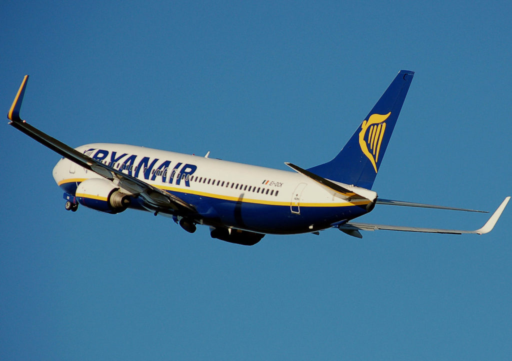 Ryanair are having