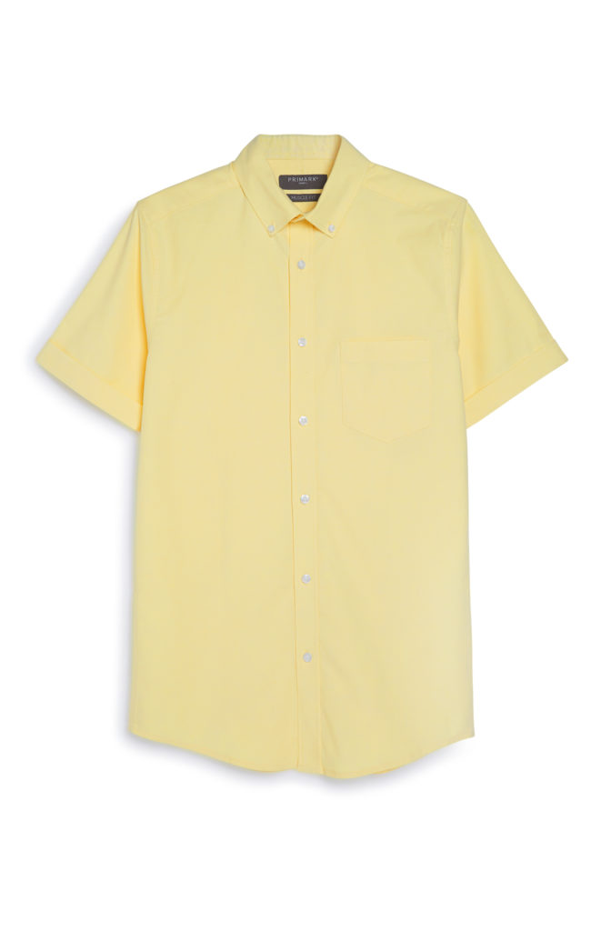 OXFORD SHIRT YELLOW