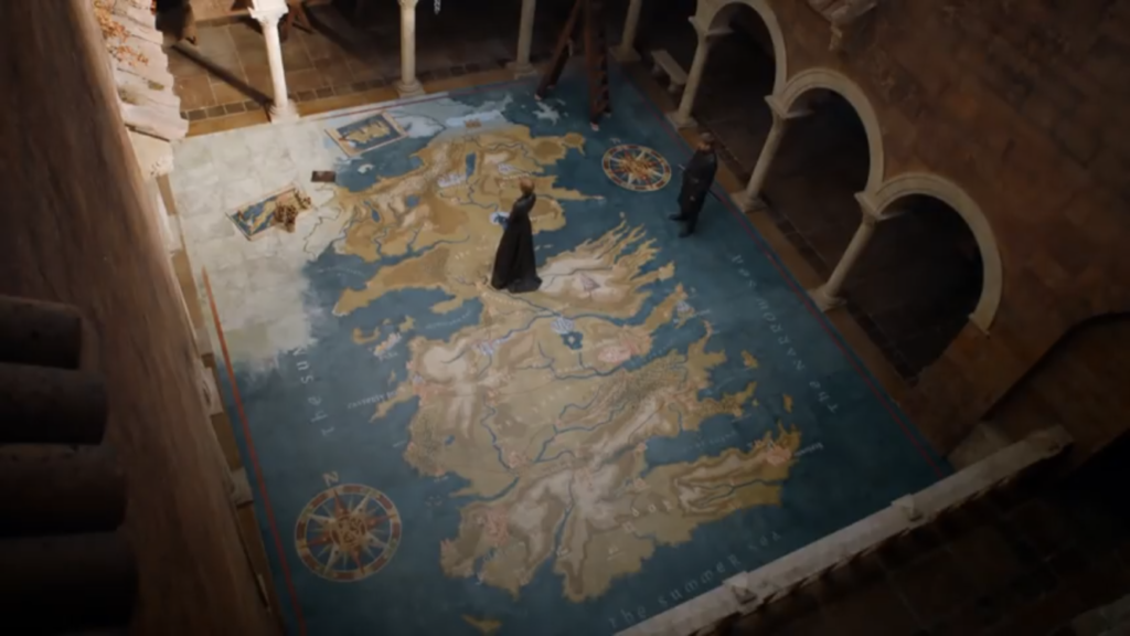 Jaime Cersei Map