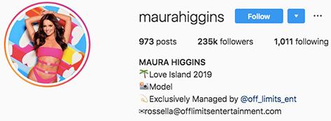 Maura Higgins