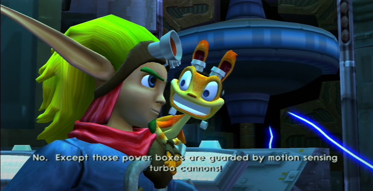 Jak and Daxter series video game retro